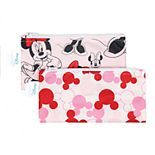 Bumkins Minnie Mouse Reusable Snack Bag 2-Pack Set