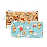 Bumkins Winnie the Pooh Reusable Snack Bag 2-Pack Set