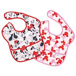 Bumkins Disney Minnie Mouse SuperBibs 2-Pack