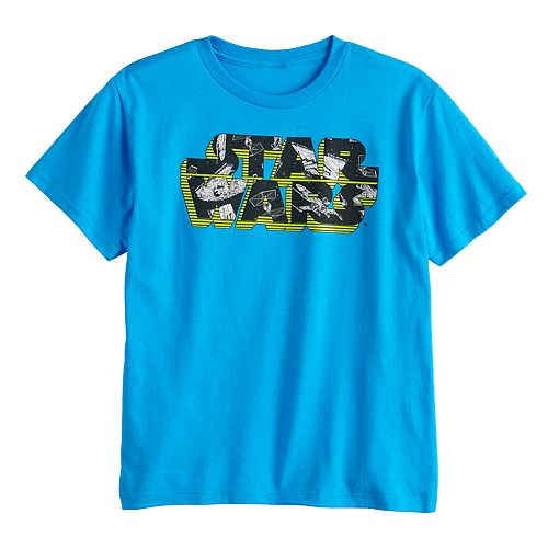 Boys 8-20 Star Wars Logo Tee