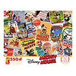 Disney Mickey Mouse Comic Book 550-Piece Puzzle by Ceaco
