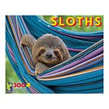 Sloths in a Hammock 300-Piece Jigsaw Puzzle by Ceaco