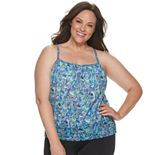 Plus Size A Shore Fit Plus Mesh Blouson