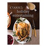 """Cook's Illustrated All-Time Best """"Holiday Entertaining"""" Cookbook"""
