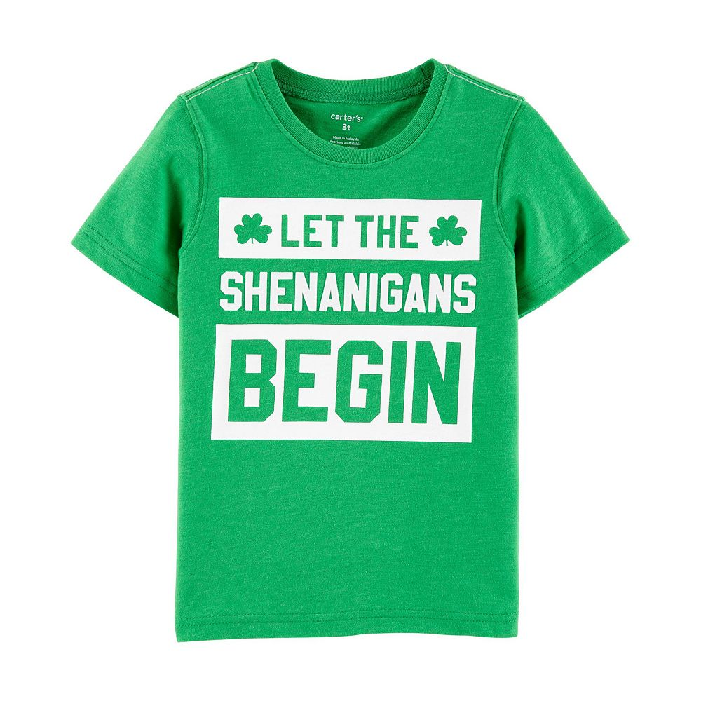 Toddler Boy Carter's St. Patrick's Day Shenanigans Graphic Tee