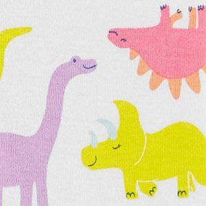 Toddler Girl Carter's Dinosaur Romper Pajamas
