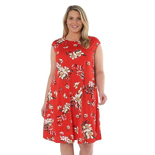 Plus Size Hudson & Harper Jersey Dress