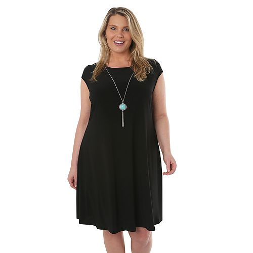 Plus Size Hudson & Harper Jersey Dress