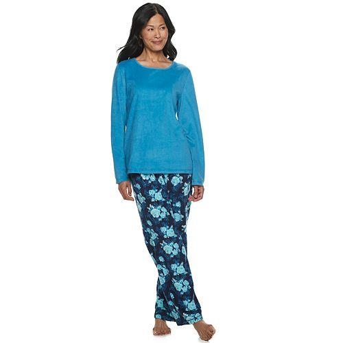 Women's Croft & Barrow® Microfleece Pajama Set