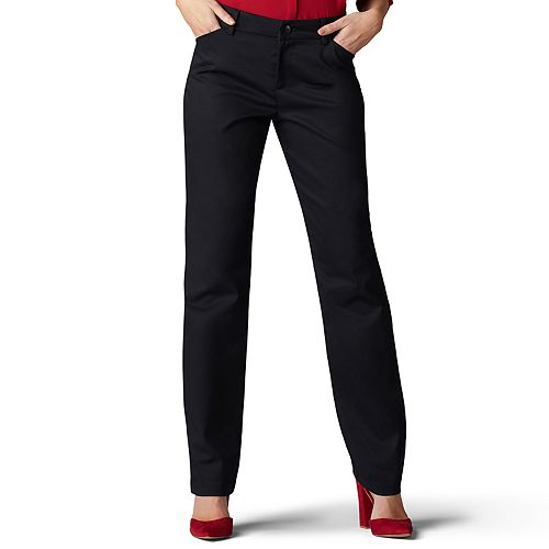 Women's Lee Wrinkle-Free Relaxed Fit Straight-Leg Pants