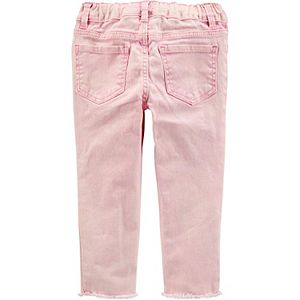 Toddler Girl OshKosh B'gosh® Pink Acid Wash Jeggings