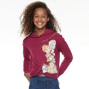 Disney D-Signed Frozen 2 Girls 7-16 Twist Front Hoodie