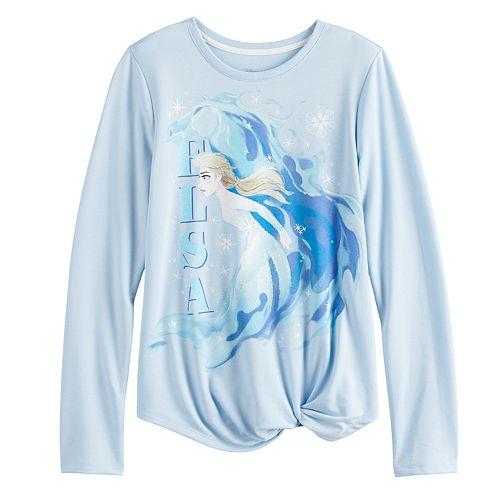 Disney's Frozen 2 Girls 7-16 Knot Hem Graphic Tee