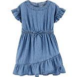 Toddler Girl OshKosh B'gosh® Ruffle Denim Dress