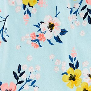 Baby Girl Carter's 2-Piece Floral Bodysuit Pants Set