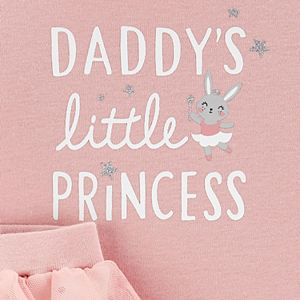 Baby Girl Carter's 2-Piece Princess Bodysuit & Tutu Pants Set