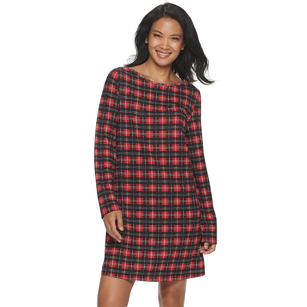 Women's Croft & Barrow® Boatneck Sleepshirt