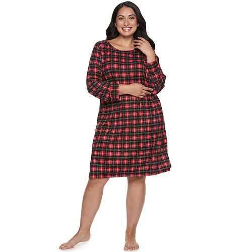 Plus Size Croft & Barrow® Boatneck Sleepshirt