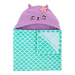 Baby Girl Carter's Mermaid Hooded Towel