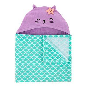 Baby Girl Carter's Mermaid Hooded Towel