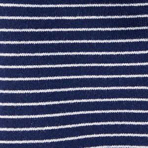 Baby Carter's Striped Zip-Up French Terry Hoodie
