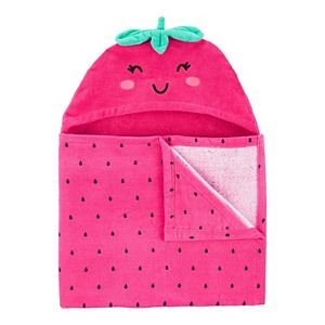 Baby Girl Carter's Strawberry Hooded Towel