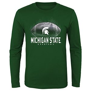 Boys 8-20 Michigan State Spartans Hexagon Tee