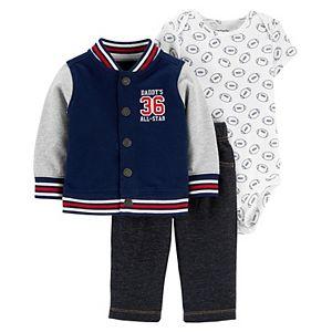 Baby Boy Carter's 3-Piece Varsity Little Jacket Set