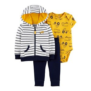 Baby Boy Carter's 3-Piece Construction Little Jacket Set