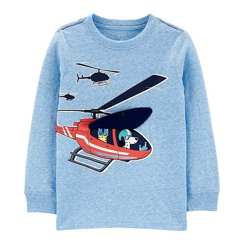 Toddler Boy Carter's Helicopter Peek-A-Boo Interactive Top