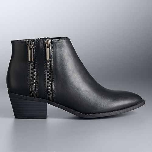 Simply Vera Vera Wang Maite Women's Ankle Boots