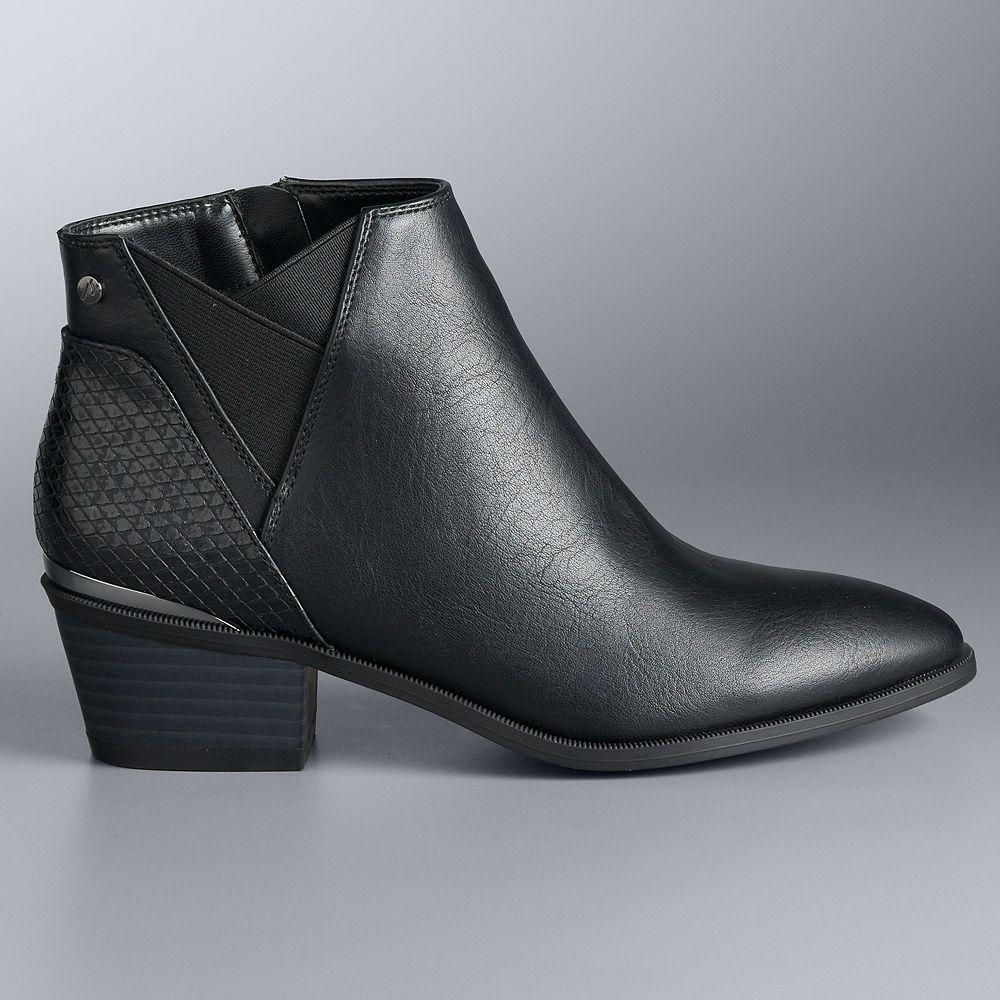 Simply Vera Vera Wang Manuela Women's Ankle Boots