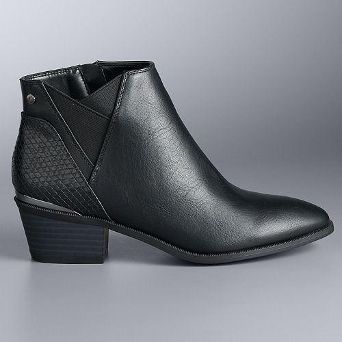 Simply Vera Vera Wang Manuela Women's Ankle Boots