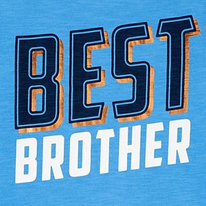 "Boys 4-14 Carter's ""Best Brother"" Graphic Tee"