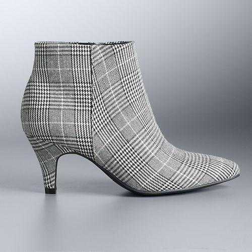 Simply Vera Vera Wang Renata Women's Ankle Boots