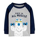 """Toddler Boy Carter's """"This Is All Muscle"""" Tee"""