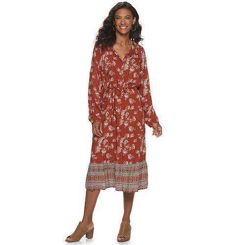 Women's SONOMA Goods for Life™ Ruffle Hem Dress