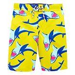Boys 4-14 OshKosh B'gosh® UPF 50+ Shark Swim Trunks