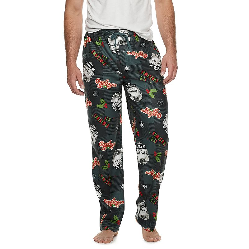 Keep it comfy and casual in these men\\\'s pajama pants. Keep it comfy and casual in these men\\\'s pajama pants. Polyester Machine wash Imported Color: Grey. Gender: male. Age Group: adult. Material: Cotton.