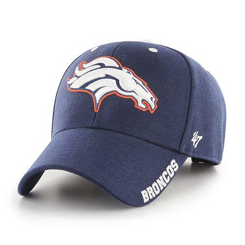 Adult '47 Brand Denver Broncos Defrost Adjustable Cap