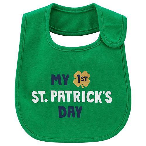 Baby Carter's My 1st St. Patricks Day Bib