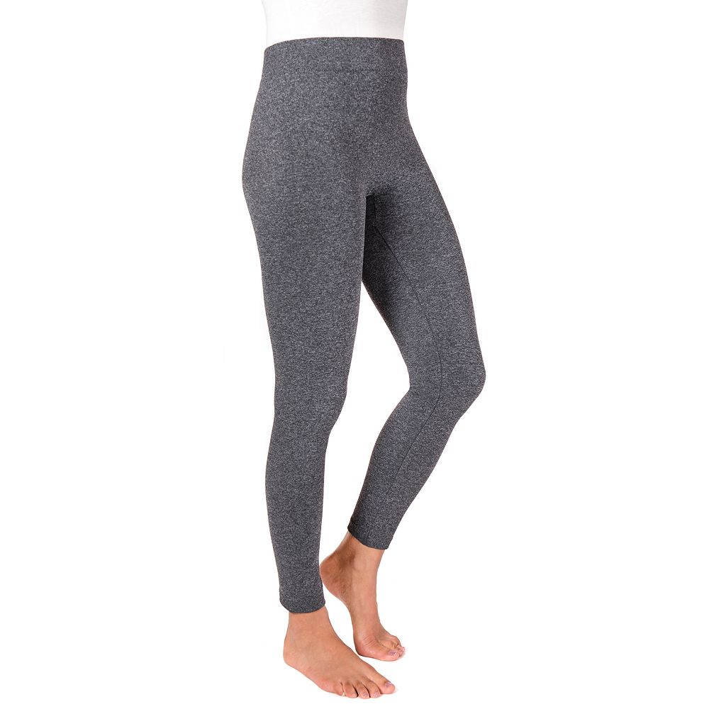 MUK LUKS® Women's Marl Fleece-Lined Leggings