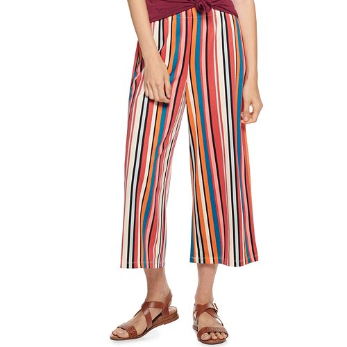 Juniors' Rewind Wide Leg Culotte
