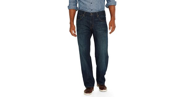 Men S Levi S 174 569 Loose Straight Fit Jeans