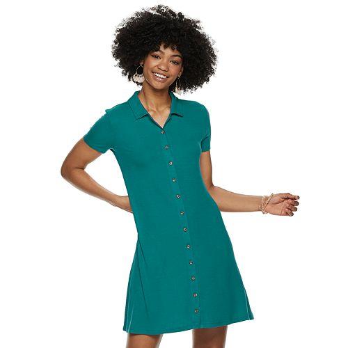 Juniors' SO® Polo Dress