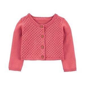 Baby Girl Carter's Button-Front Cardigan