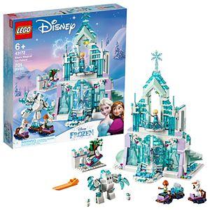 Disney's Frozen 2 Princess Elsa's Magical Ice Palace Set 43172 by LEGO
