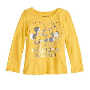 Disney's Mickey & Minnie Mouse Toddler Girl Graphic Tee by Jumping Beans®