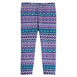 Toddler Girl Jumping Beans® Fleece-Lined Leggings