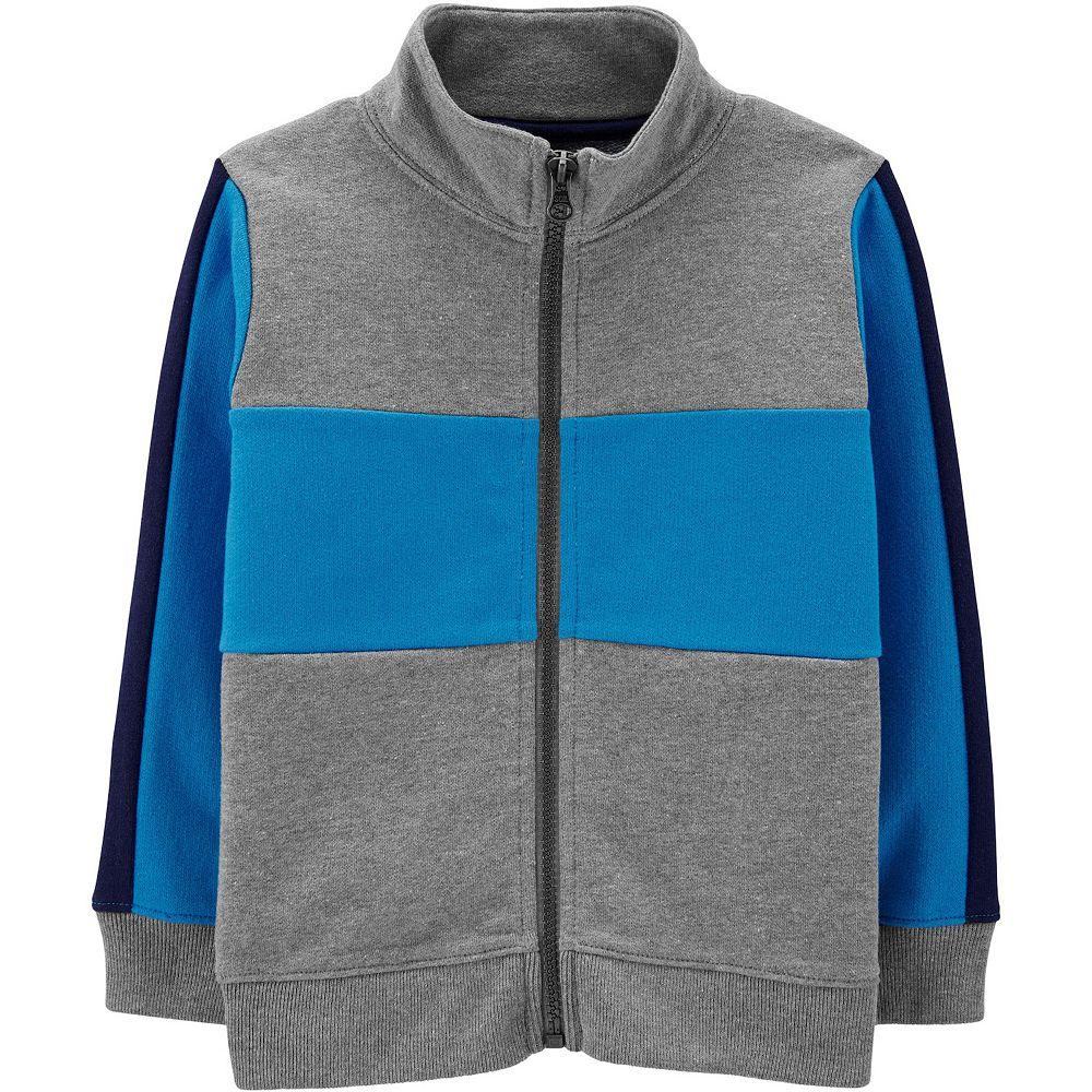 Baby Boy Carter's Colorblock Zip Lightweight Jacket